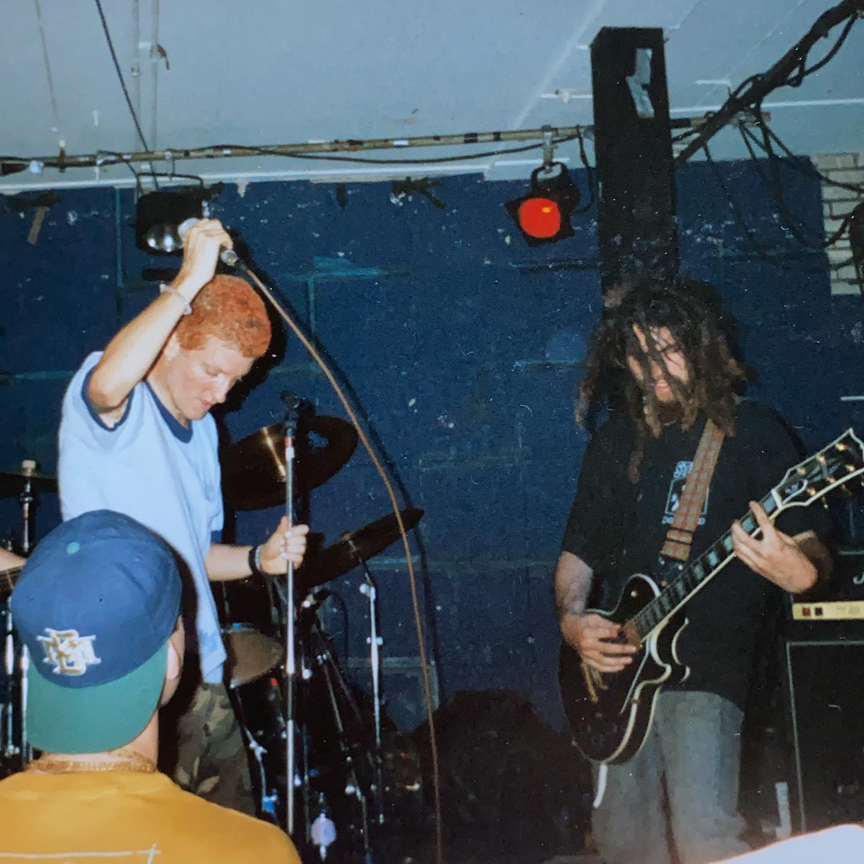 4 Walls Falling - Goudvishal Arnhem - 2 July 1995 #hardcore #punkrock