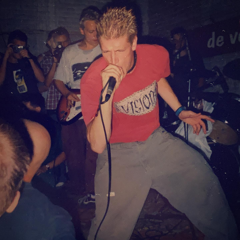 Facedown - Hardcore Festival at Vort 'n Vis Ieper (B) - 15/16/17 August 1997 #vegan #straightedge #hardcore #metal pic by @twentylandcrew