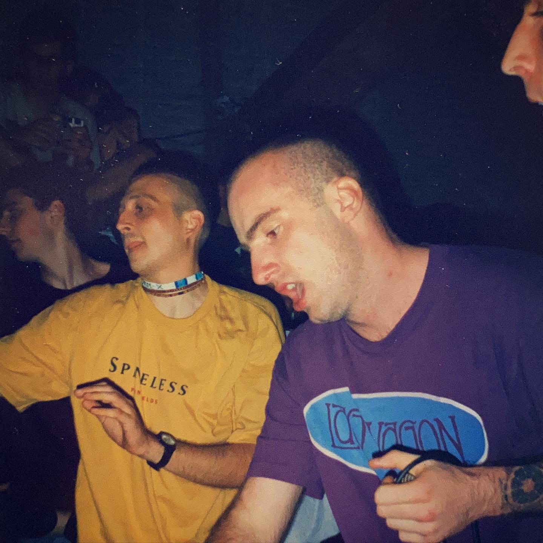 Veil - Hardcore Festival at Vort 'n Vis Ieper (B) - 15/16/17 August 1997 #straightedge #hardcore #harekrishna pic by @twentylandcrew