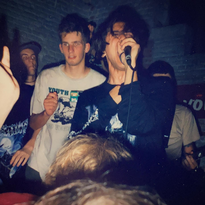 Abhinanda - Hardcore Festival at Vort 'n Vis Ieper (B) - 15/16/17 August 1997 #vegan #straightedge #hardcore @abhinanda_hc pic by @twentylandcrew