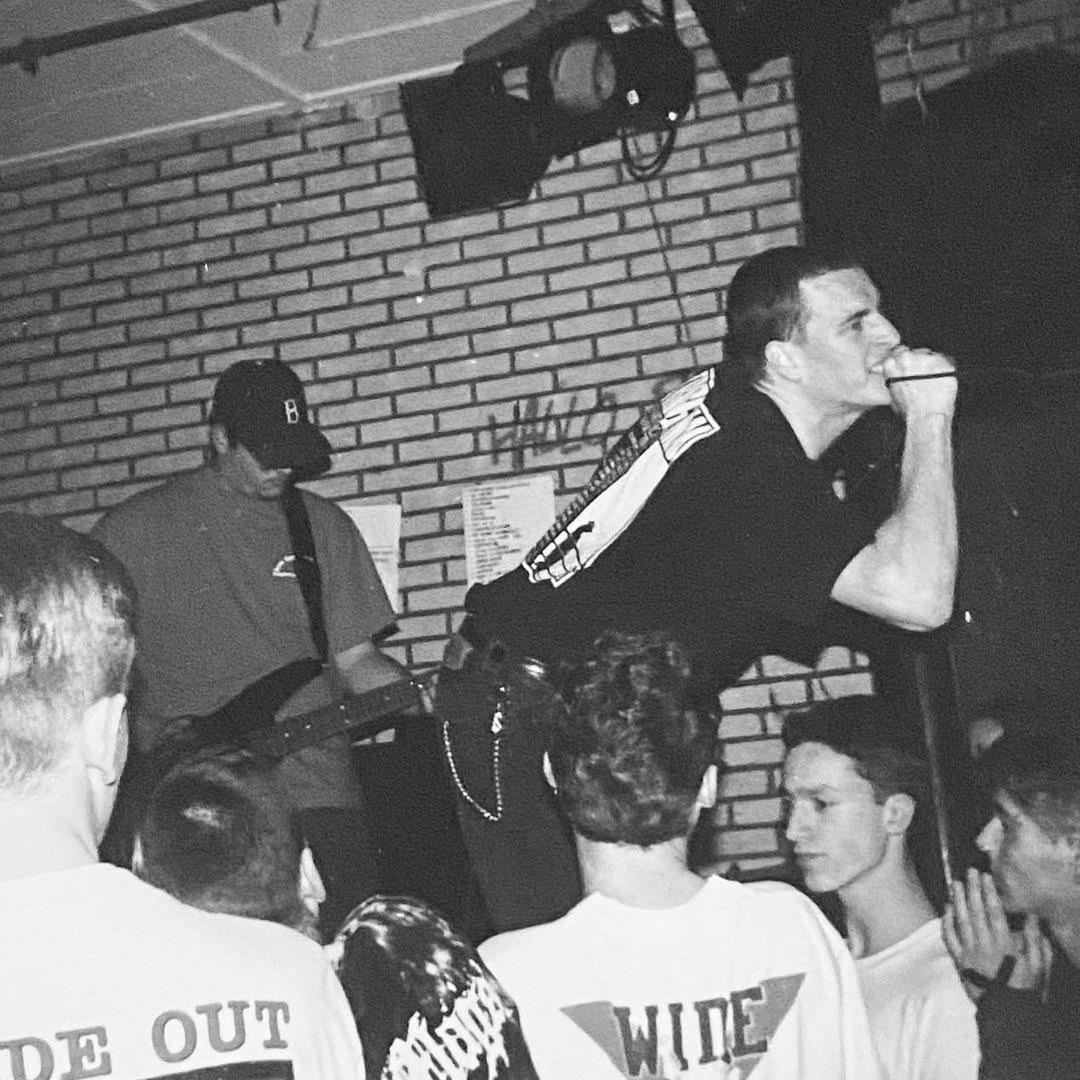 NO FOR AN ANSWER - Goudvishal, Arnhem - 3 March 1994 #straightedge #hardcore #goudvishal #gigpic by @twentylandcrew