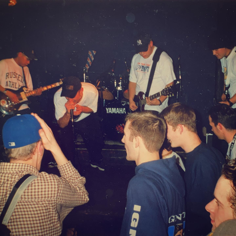 Spirit 84 - Goudvishal Arnhem (NL) - 27 December 1997 #hardcore #youthcrew #gigpic by @twentylandcrew