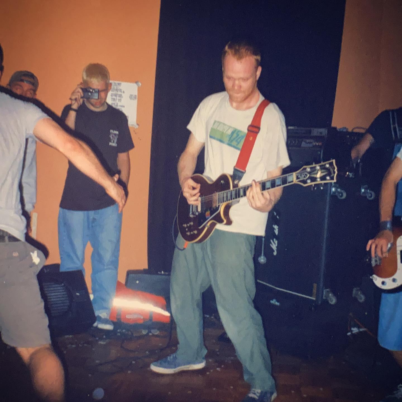 By The Grace Of God - Return of the X-men Straight Edge Hardcore Festival at Volta Amsterdam NL - 29 June 1997 #straightedge #hardcore @redhandplan #gigpic by @twentylandcrew