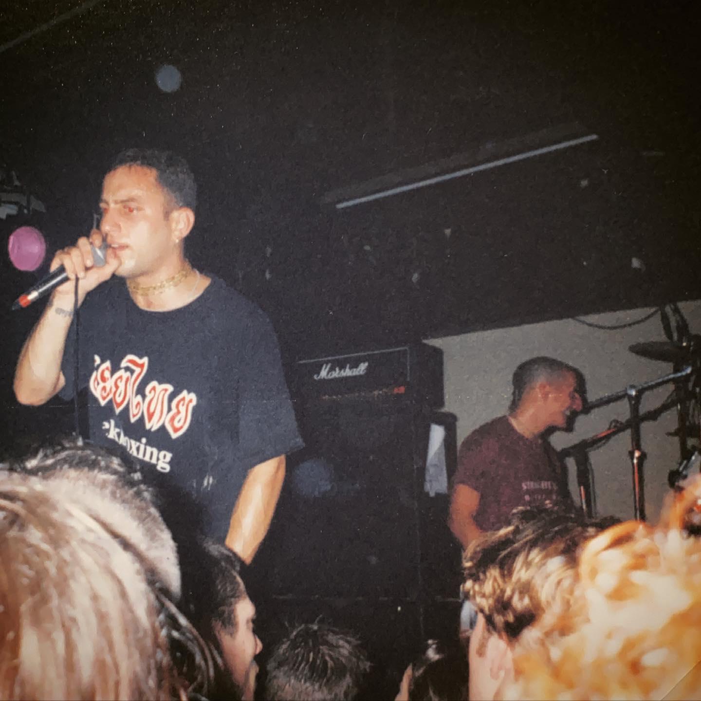 Shelter - Vera Groningen NL - 8 February 1996 #harekrishna #hardcore @shelter_band_official #gigpic by @twentylandcrew