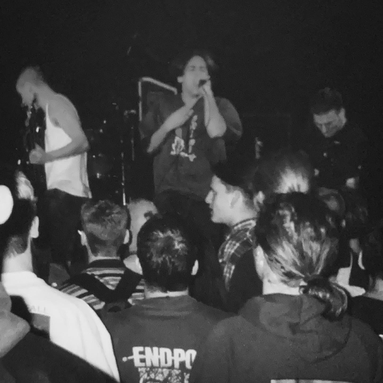 Abhinanda - Bolwerk Sneek NL - 7 October 1995 #straightedge #hardcore @abhinanda_hc #gigpic by @twentylandcrew