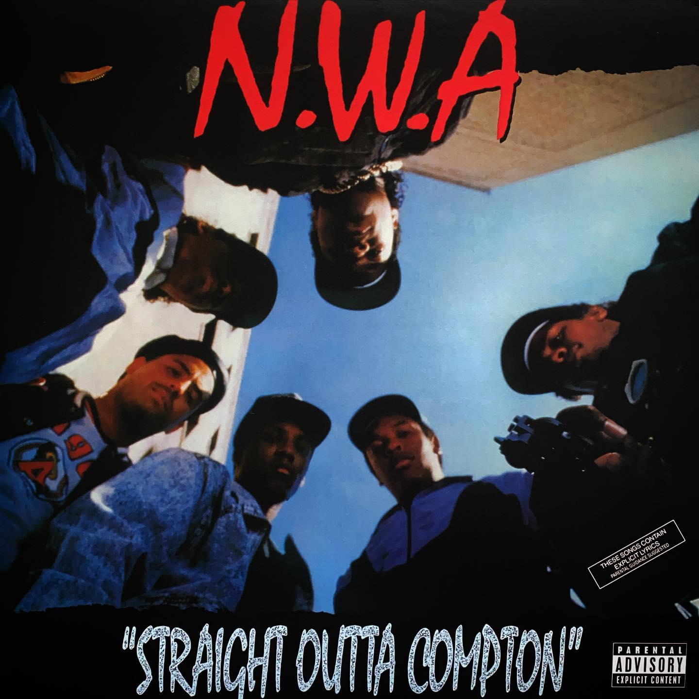 N.W.A. - Straight Outta Compton #anotherclassic #vinyl #nowspinning