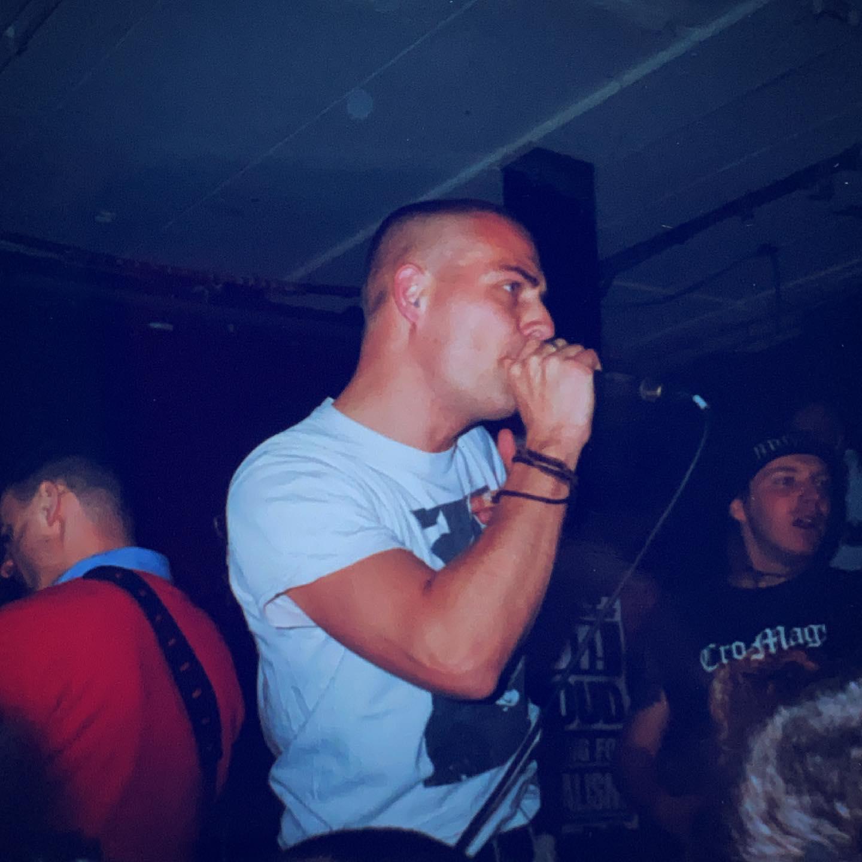 Manliftingbanner - Goudvishal, Arnhem (NL) - 23 January 1999 #straightedge #vegan #hardcore #punkrock #metal #gigpic by @twentylandcrew