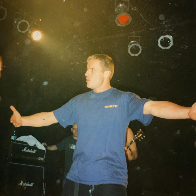 Ignite - Bolwerk Sneek NL - 16 November 1996 #hardcore #punkrock @igniteband #gigpic by @twentylandcrew