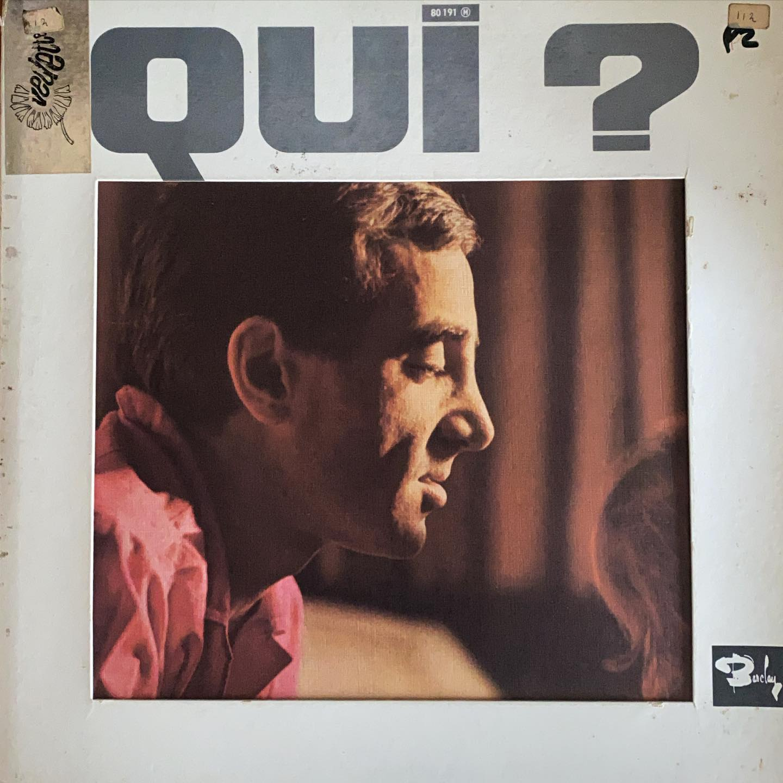 Qui? Charles Aznavour! #vinylforbreakfast #nowspinning @aznavourfoundation