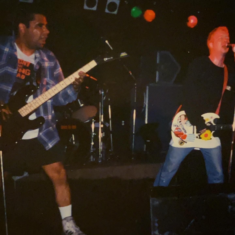 Down by Law - 1 May 1993 - Metropool Hengelo NL #punkrock #hardcore @downbylawband #gigpic by @twentylandcrew