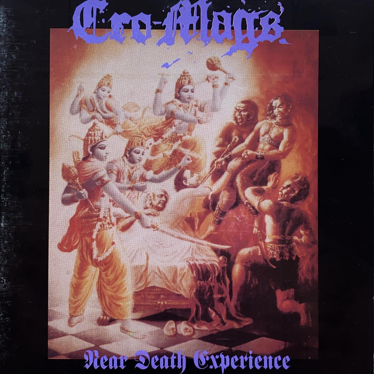 """@realcromags #nowspinning #cd """"Dig in your souls reflect in your hearts'cause death is behind us to tear us apart. Show you no mercy, no mercy at all,the valley of death it echoes its call."""""""