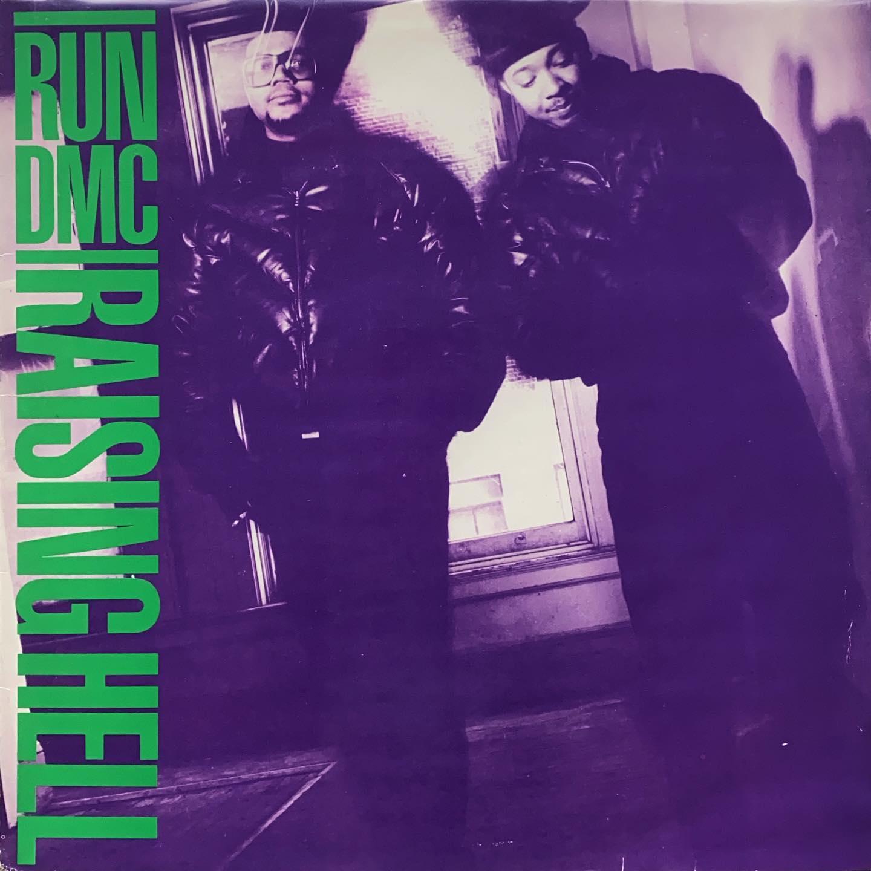 Run DMC - Raising Hell #vinylforbreakfast #nowspinning @rundmc