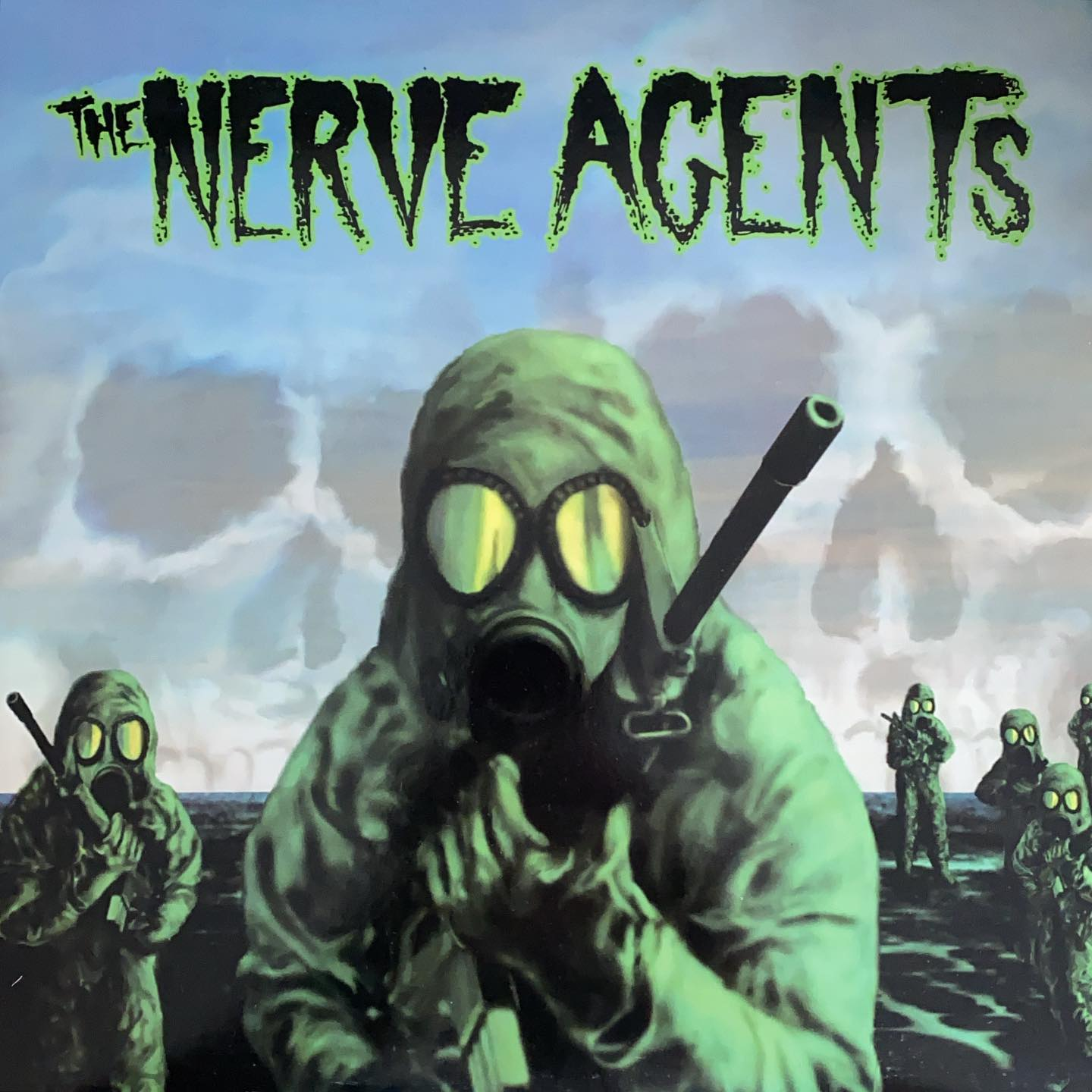 """the Nerve Agents #vinyl #nowspinning @revelationrecords """"My drive in life comes from the fear of mediocrity. Not slaving with the herd, running blind and aimless. SEIZE THE DAY."""""""