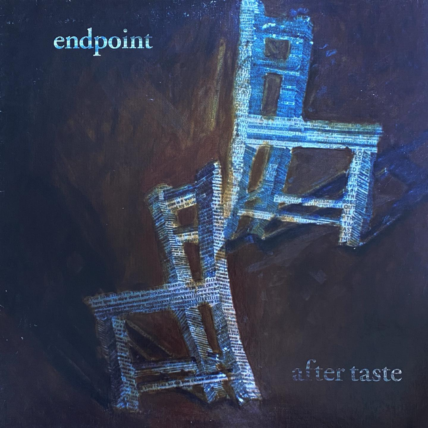 """Endpoint - After Taste #vinylforbreakfast #nowspinning """"We all burn brightest when it's love that fuels the flame"""""""