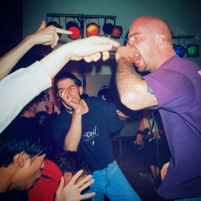 Veil - de Poort Dongen (NL) - 1 November 1997 #straightedge #hardcore #harekrishna #gigpic by @twentylandcrew