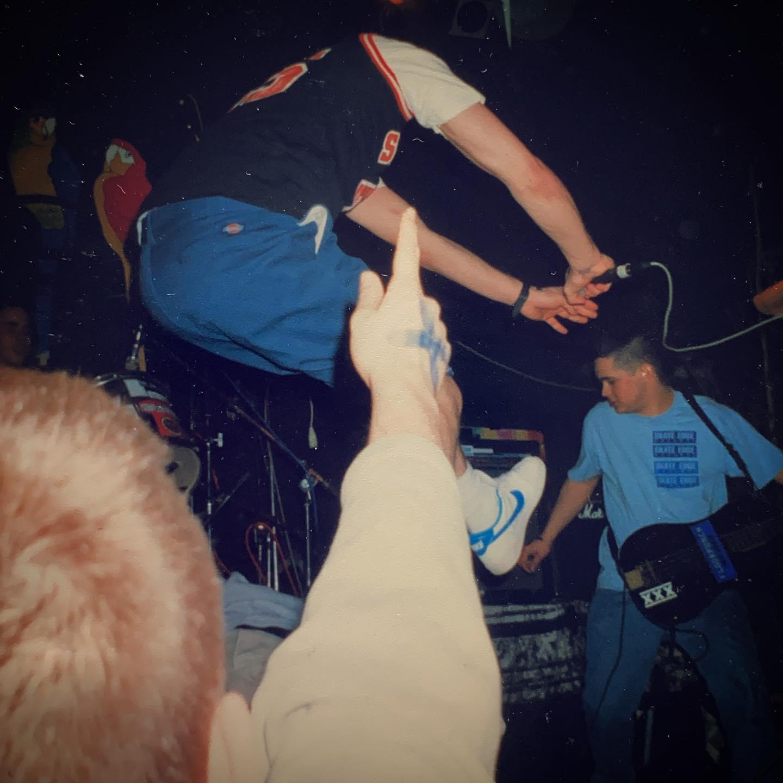 Eyeball - de Box Boxmeer (NL) - 20 December 1997 #straightedge #hardcore #gigpic by @twentylandcrew