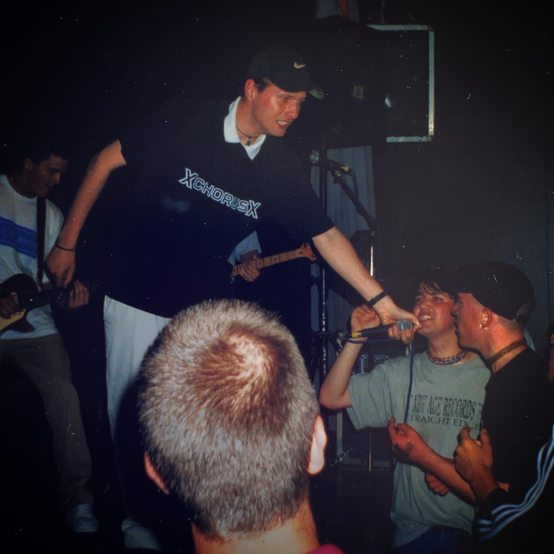 Guiding Line - Zaal 100, Amsterdam (NL) - 29 May 1998 #straightedge #hardcore #punkrock #gigpic by @twentylandcrew