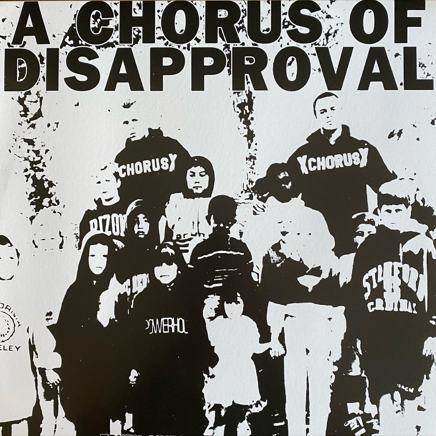 a chorus of disapproval - truth gives wings to strength #vinylforbreakfast #nowspinning #classic #straightedge #hardcore