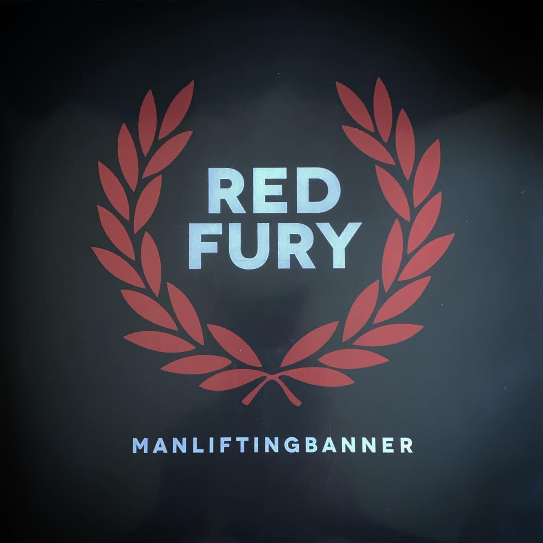 Manliftingbanner - Red Fury #vinylforbreakfast #vinyl #nowspinning #grrrr